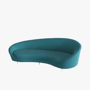 eichholtz sofa provocateur 3d 3ds