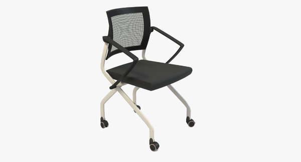 3d model of office chair