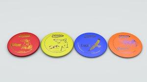 innova disc frisbees c4d