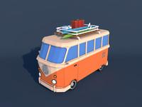 3d bus van