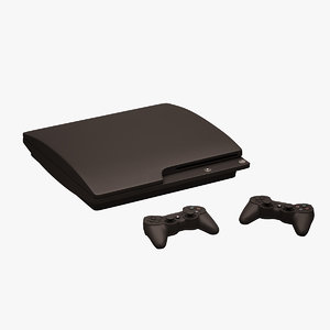 3d ps3 controller sony model