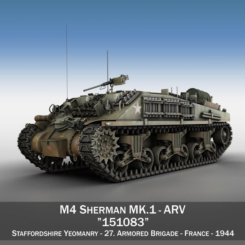 m4 sherman arv - 3ds