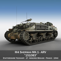 m4 sherman arv - 3ds