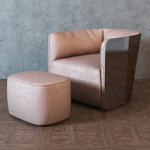flou softwing armchair max