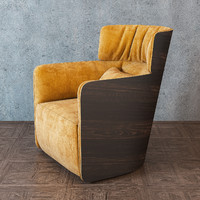3d flou softwing armchair