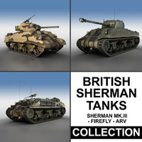 British Shermans - Collection