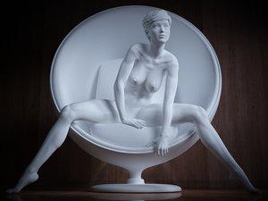 perfect print sculpture 3d model