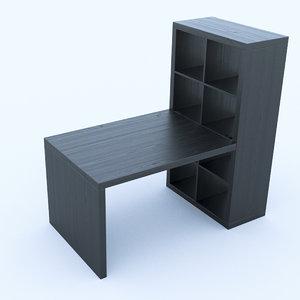 3d ikea desk model