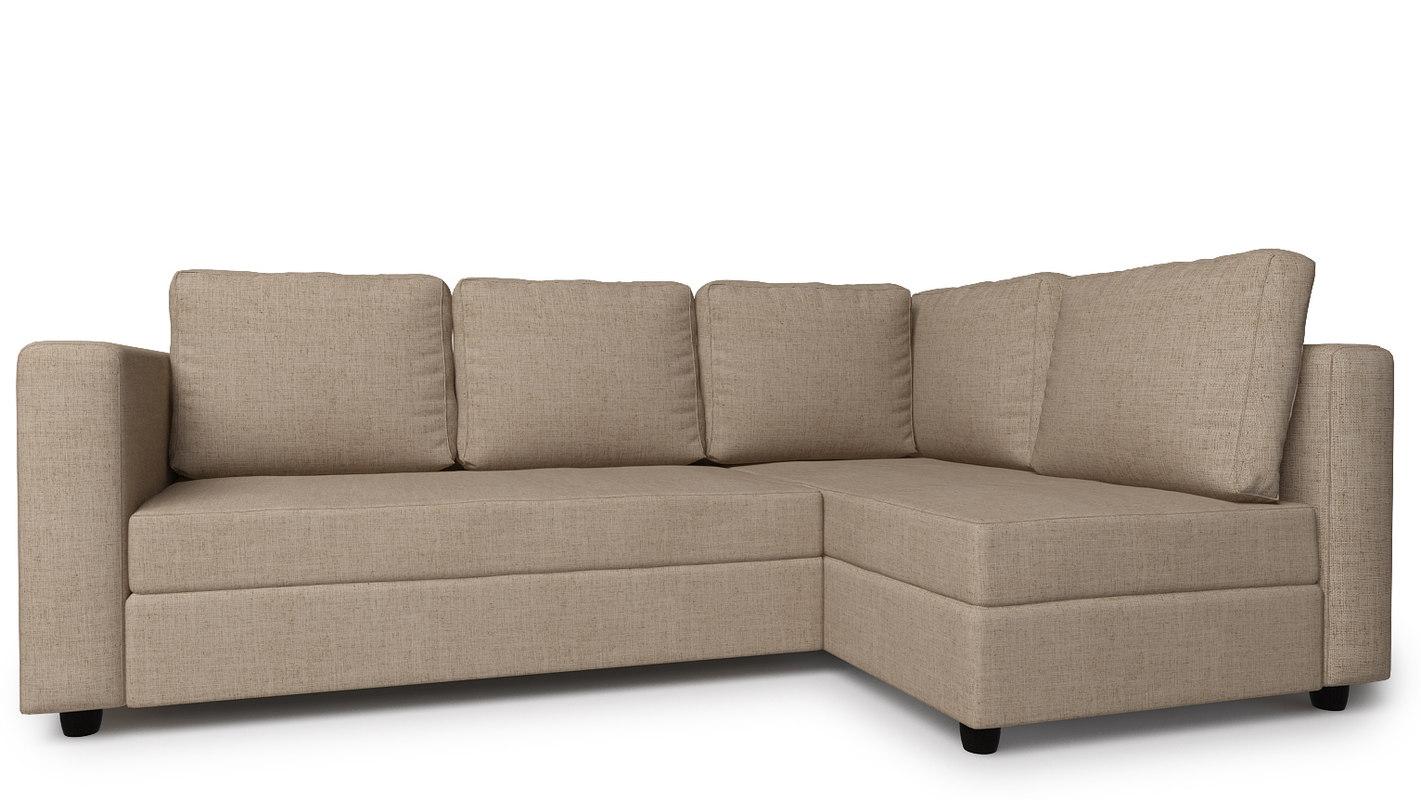 corner sofa alex7 3d model