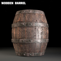 Wooden Barrel Old(1)