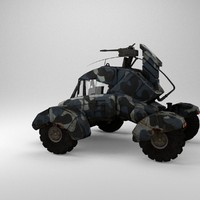 Dystopic Future Combat Vehicle