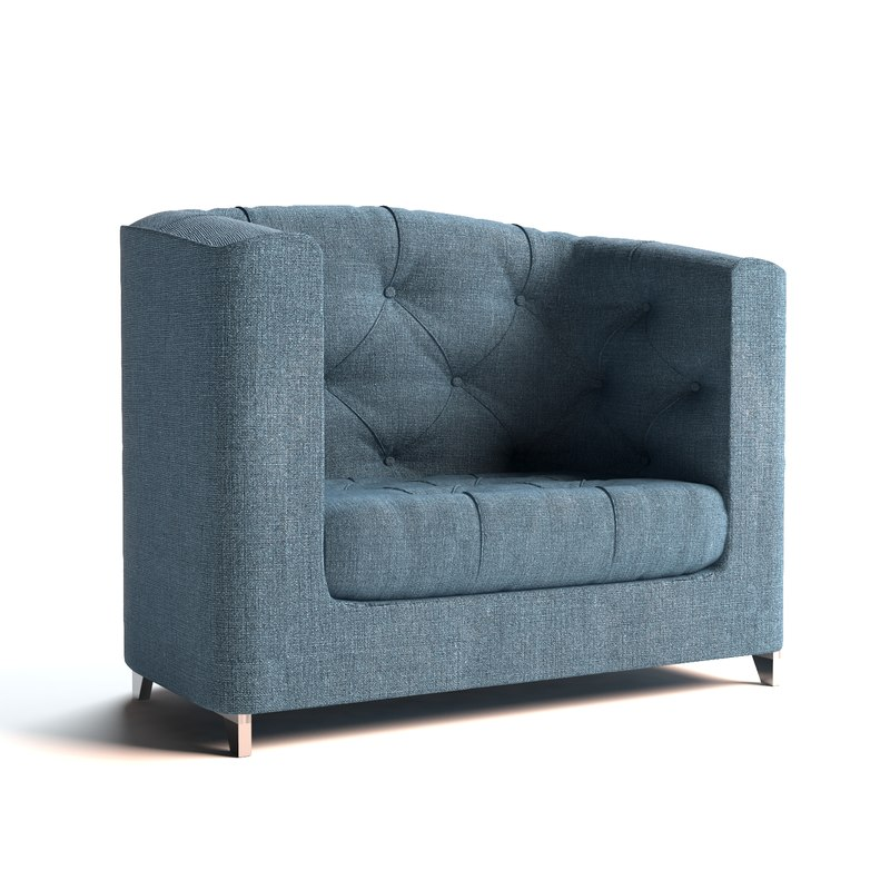 single seat sofa 3d max