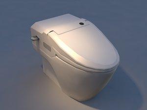 toilet dst-500 3d model