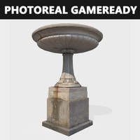 Fountain gameready