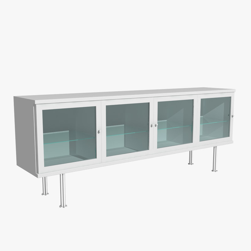 Ikea sideboard 3d model for Sideboard 3d
