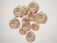 tom dixon copper shade 3d obj