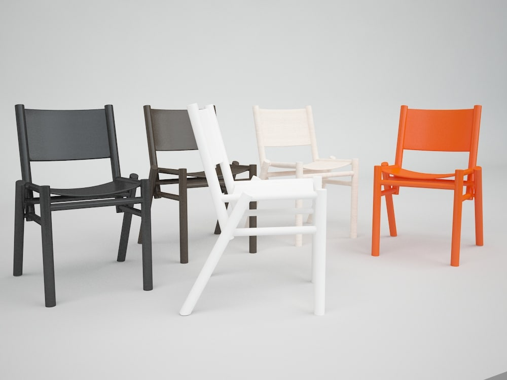 chair peg 3d model