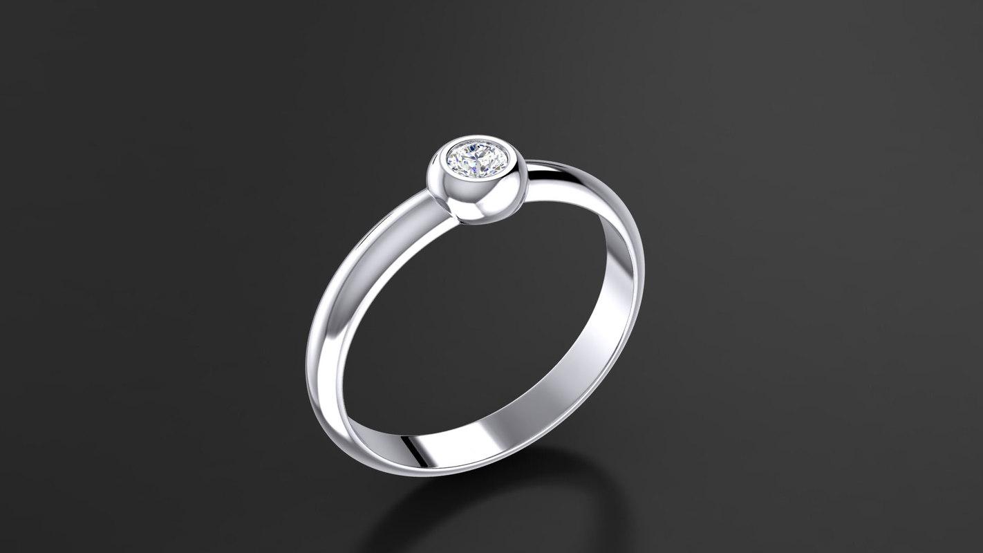 3d model gem stone