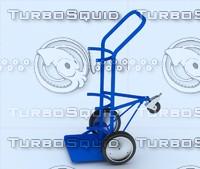 truck sack 3d model