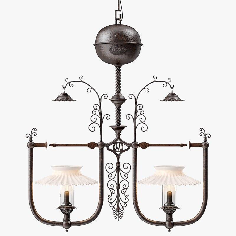 3d gilette light company style model