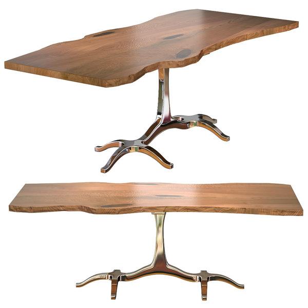 3d slab speel dining table