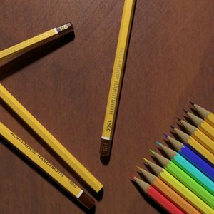 max coloured koh-i-noor pencils