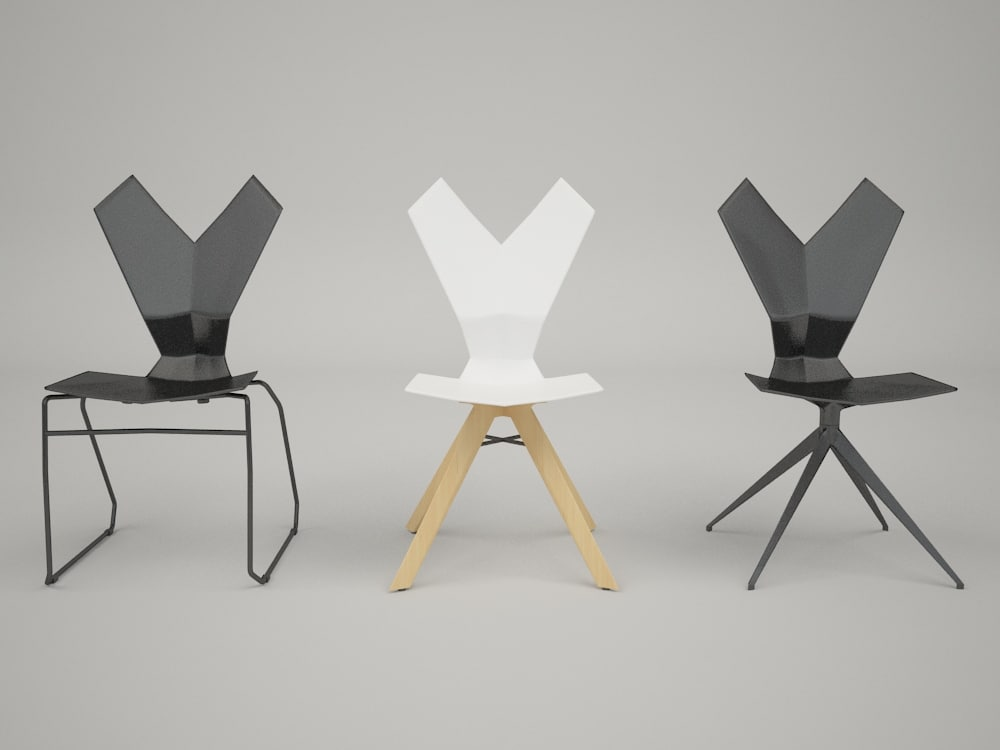 3d y chairs