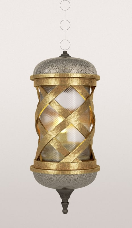 3d model of ramadane lamp