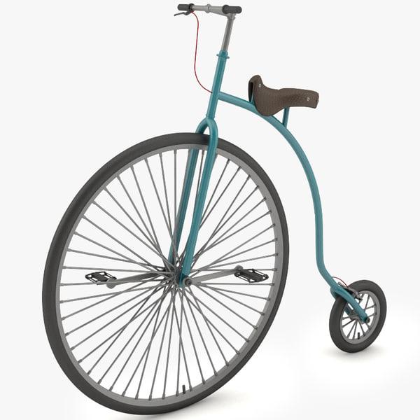 3d classical bike