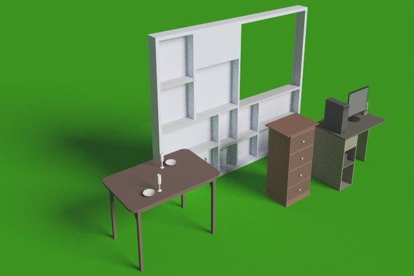 moveis para 3d model