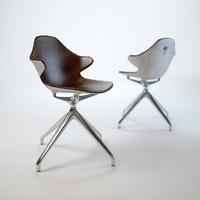 kirk-chair 3d model