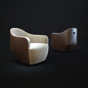 walter-knoll-isanka-chair 3d model
