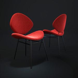 3d model fishnet-chair