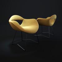 3d model rumi-chair