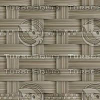 Splint Weave Flat Reed Texture