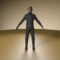 3d luke skywalker model