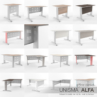 max office desks unisma alfa