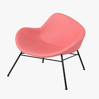 halle k2 chair 3d obj