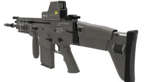 3ds fn scar assault rifle