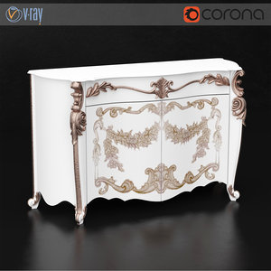 vittorio grifoni sideboard 3d max