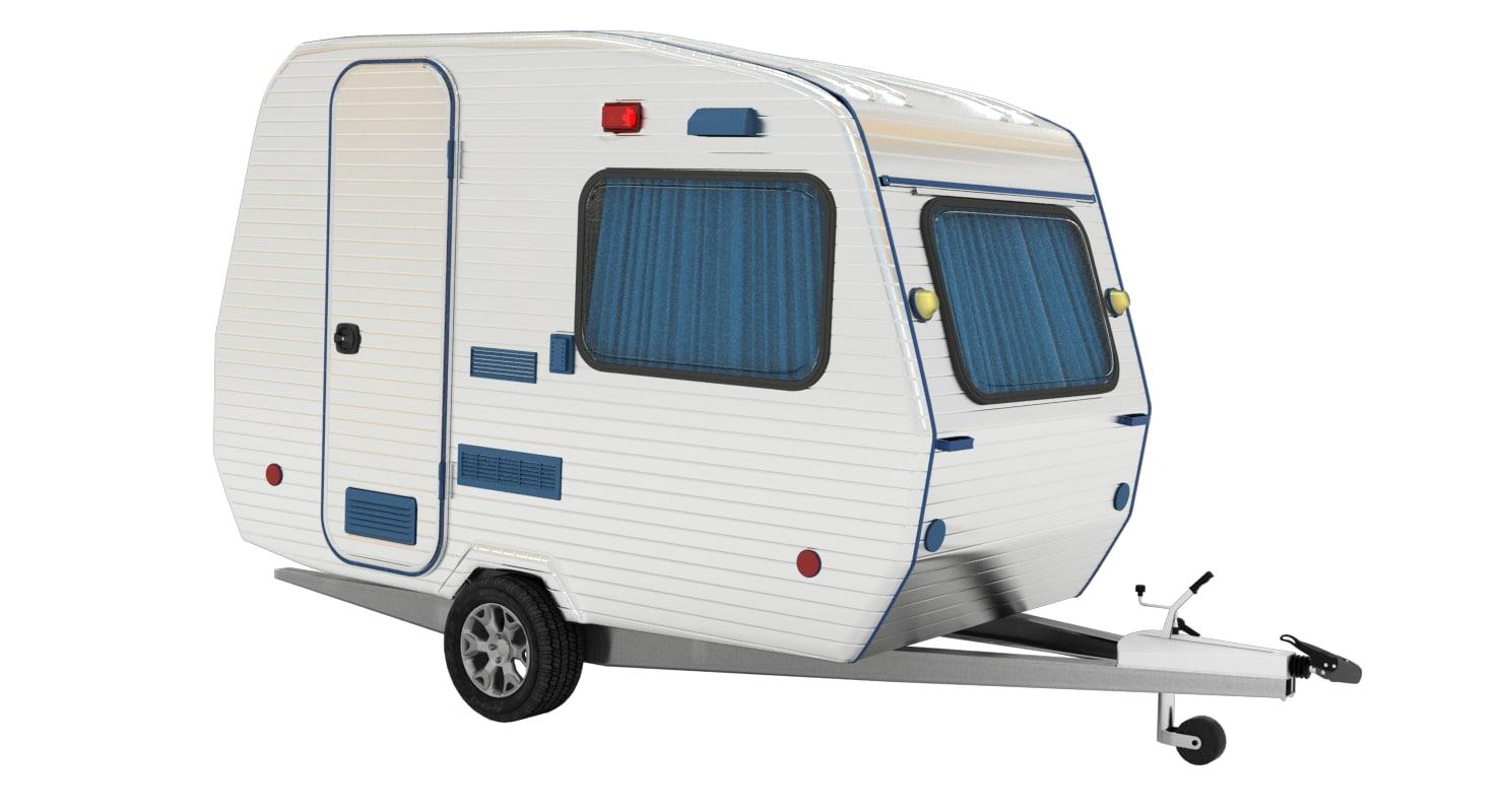 hobby caravan 3d max