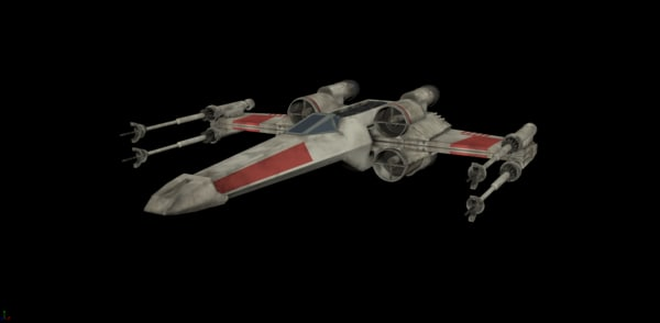 ma x-wing rigged