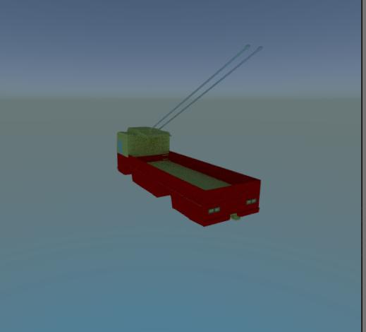 trolleybus truck ktg 3ds