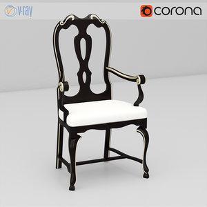 vittorio grifoni chair 3d max