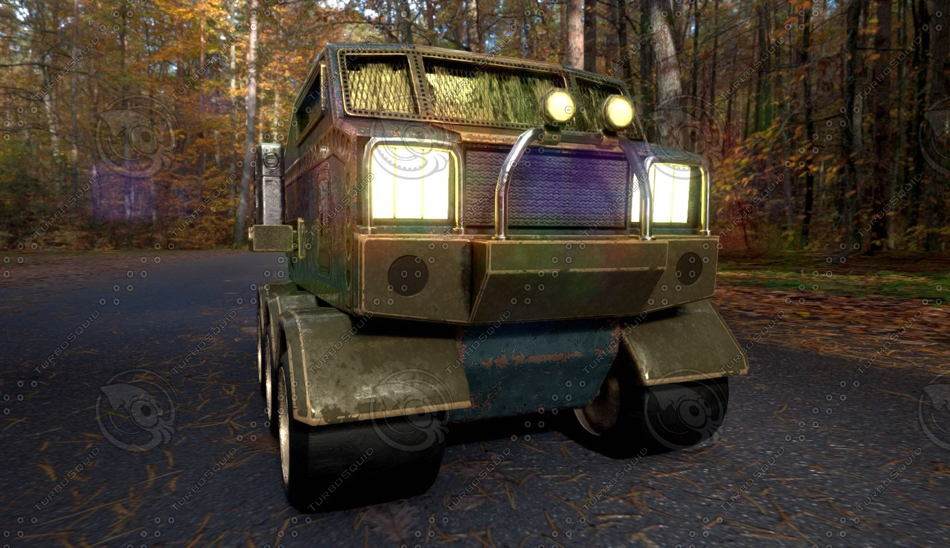 3d armored truck ground
