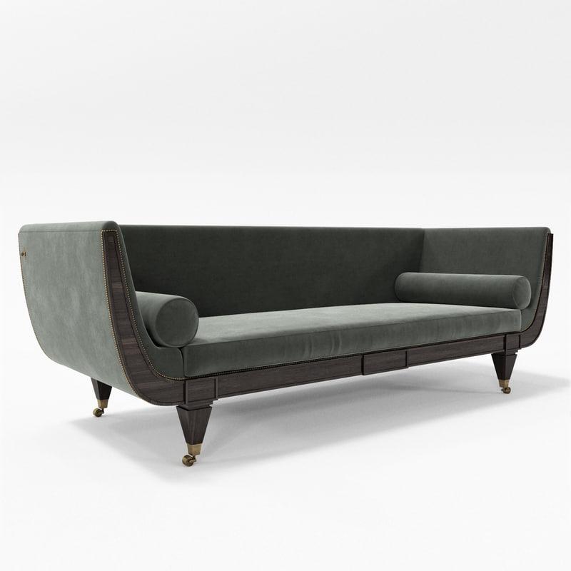 jamb hanbury sofa 3d max