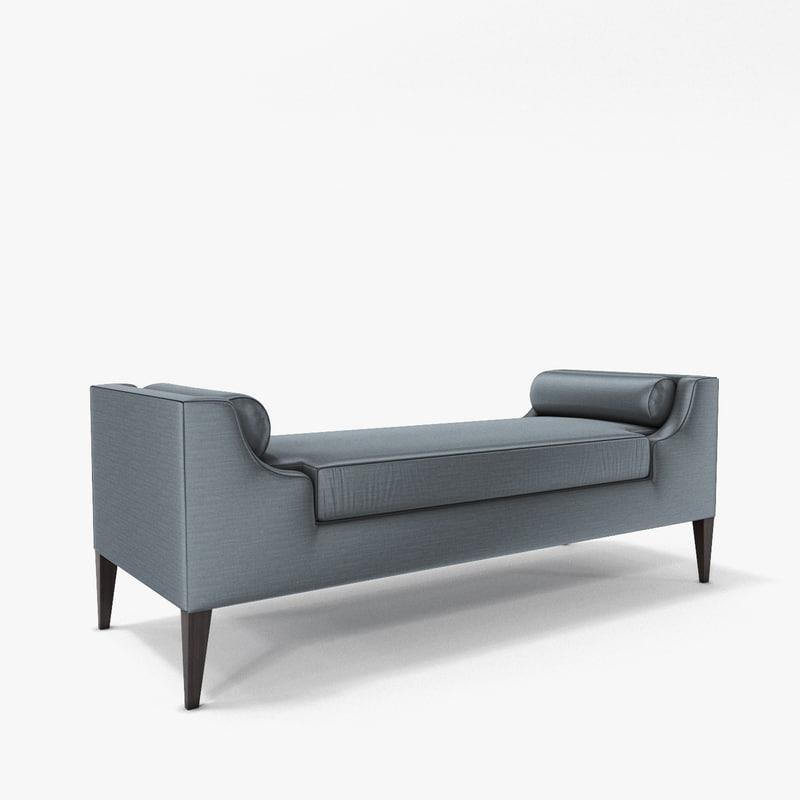 myplumdesign reese bench 3d model