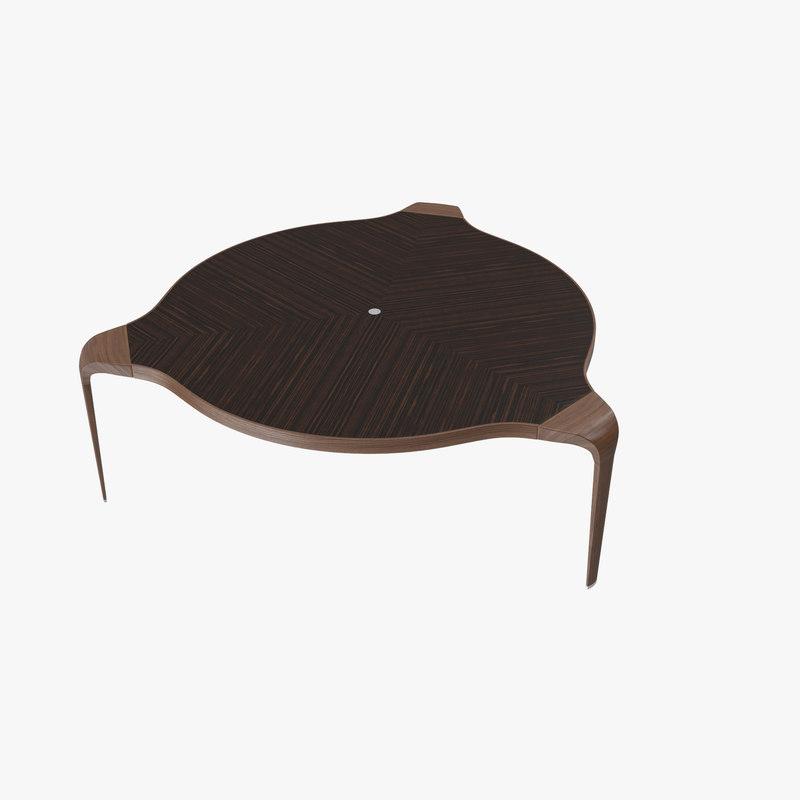 table giorgetti spa 3d model