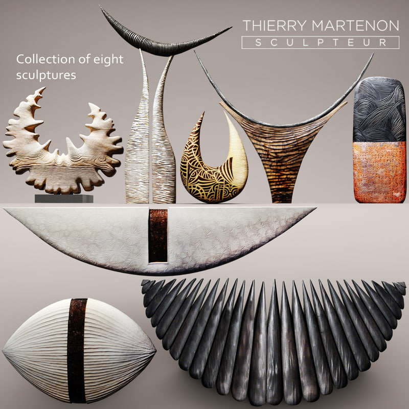 sculpture thierry martenon max