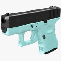 obj glock 26 blue